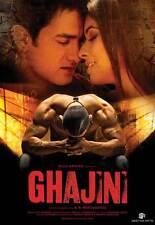 GHAJINI Movie POSTER 11x17 India Aamir Khan Tinnu Anand Asin Vibha Chhibber