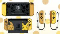 HOUSING Shell Nintendo Switch Console & Joycon - Pokemon Edition