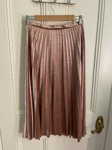 Bardot Pleat Skirt (size 10)