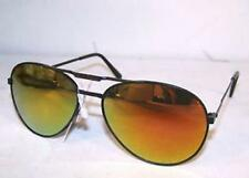 COLOR LENSE AVIATOR PILOT SUNGLASS police sunglasses MENS WOMENS hippie glasses