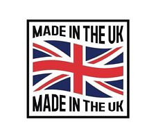 UK Made in the UK England GB Sticker Decal Graphic Vinyl Label V2