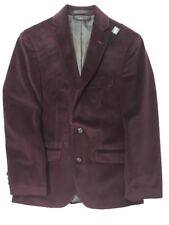 Lauren Ralph Lauren Boys Juniors Velvet Sports Jacket Burgandy Size 16R NWT