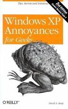 Windows XP Annoyances for Geeks, 2nd Edition [Paperback] by David A. Karp