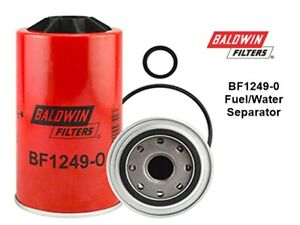 Baldwin Filters Fuel/Water Separator - BF1249-O Spin-on with open port
