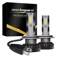 Un Par de Coches -800W-16000Lm-H7-Led-6000K Faros de Coche Luces de Haz Luz  4W4