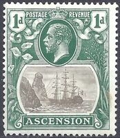 Ascension British Colony - Ascension Colonia Britannica - Sc#11 MHR FVF