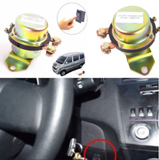 Car Battery Switch Electromagnetic Disconnect Master Kill Dash Button Anti-Theft