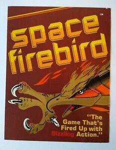 Gremlin Sega Space Firebird Arcade FLYER 1980 Original Retro Video Game Artwork