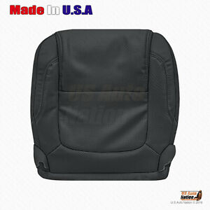 2011 2012 2013 2014 2015 Ford Explorer - Driver Bottom Leather Seat Cover Black