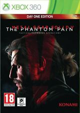 Metal Gear Solid V The Phantom Pain Day 1 Edition Microsoft Xbox 360 FREE P&P