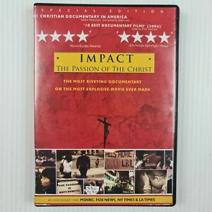 Impact: The Passion of the Christ DVD - 2 Disc Set - TRACKED POSTAGE