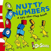 (Good)-Nutty Numbers: A Lift-the-Flap Book (Dr Seuss - A Lift-the-Flap Book) (Bo