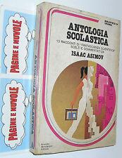 urania biblioteca 6 ASIMOV - ANTOLOGIA SCOLASTICA copertina sporca