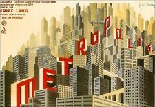 Art PosterMETROPOLIS  Fritz Lang Movie Film  Print