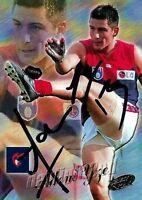 ✺Signed✺ 2000 MELBOURNE DEMONS AFL Card ADEM YZE