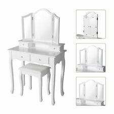 Kinbor RDDT00 Makeup Dressing Table Set - White