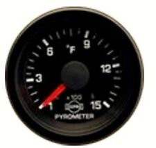 Pyrometer kit ISSPRO Dodge Cummins Black Face-Red Pointer