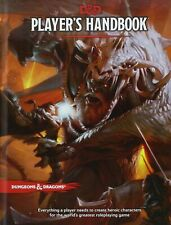 Dungeons & Dragons Player's Handbook 5th Edition 2 to 5 Players Ages 12 Up.