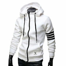 New Winter Heavy Blend  Plain Hooded SweatShirt Hoodie Sweat Hoody Jumper Zipper