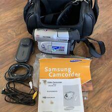 New Listingâ� Samsung Scl810 8mm Hi-8 Video Camcorder. Bundle, Tested / Works. Needs Battery