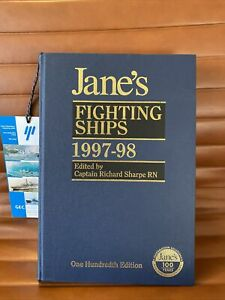 JANES FIGHTING SHIPS 1997-1998 CENTENARY EDITION HARDBACK
