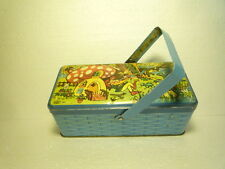 VINTAGE TIN LITHOGRAPHIC BOX FER EMBAL CANDY LOUIS CLASS ROBERT VELTER FRANCE