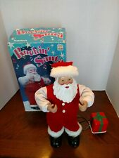 Christmas Radio Shack Rockin' Santa Animated Figure Singing Dancing 1999