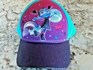 Vampirina Purple Hat, Size 2T - 4T, 3D Pop Cap by Disney Junior - Fun!!
