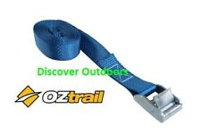 NEW OZtrail Tie Down Strap 1 Metre x 25mm wide - Camping TRAILER Tie Down Strap