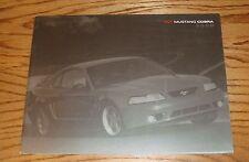 Original 2000 Ford SVT Mustang Cobra Sales Brochure 00