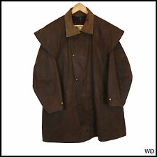 VINTAGE BARBOUR W.K BACKHOUSE BROWN COAT JACKET MEDIUM 40 102CM