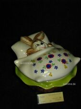 +# A015971_04 Goebel Archiv Muster Ostern Dose Can Hase Bunny in Bett 83-523