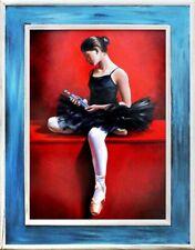 Balletti Russia immagine Teatro reale a mano quadro olio dipinto immagini g17237