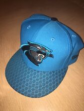 sports shoes 59ff8 c9e32 Carolina Panthers New Era NFL Playoffs 59Fifty Fitted Hat Cap! Size 7 3 4