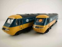 OO Gauge Hornby Intercity 125 in BR Livery motor and dummy car