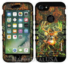 For Apple iPhone 7 & 7 Plus KoolKase Hybrid Silicone Cover Case CAMO MOSSY DEER