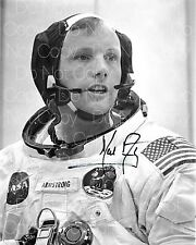 Neil Armstrong signed Apollo Moon Landing NASA  8X10 photo picture autograph RP2