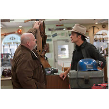 Justified Timothy Olyphant as Raylan Givens Talk to Glen Fogle 8 x 10 Inch Photo