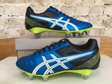 ASICS Lethal Tackle football Boots Uk 10 US 11 Eu 45 Rare OG Soccer Cleats Blue