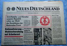Tageszeitung Neues Deutschland 9.11.1971 FDGB Urlaub Interhotel Mietwucher BRD