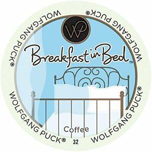 Wolfgang Puck Coffee, Breakfast in Bed (Medium Roast),  24-Count K-Cups for Keur
