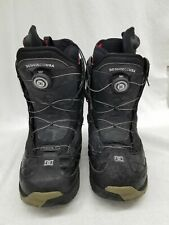 DC Size 12 Mens Black Snowboarding Boots