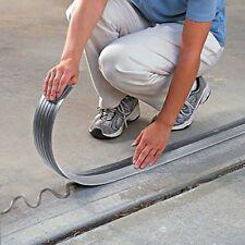 New Garage Door Weather Seal 10ft Below Part Repair EPDM Rubber Sealer w/ Glue