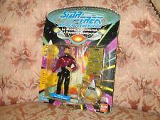 1 X Star Trek Lieutenant Thomas Riker the Next Generation Action Figure No punch