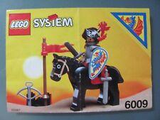 LEGO 6009 @@ NOTICE / INSTRUCTIONS BOOKLET / BAUANLEITUNG