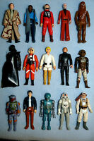 VINTAGE STAR WARS SELECTION OF FIGURES FROM VARIOUS SERIES CHOOSE 1