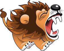PREMIUM Aufkleber brüllender Löwe Auto Sticker für Kinder Autoaufkleber Tuning