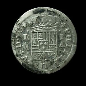 1726, 1 Silver Real Philip V, Madrid Mint - 20 mm / 2.21 gr.