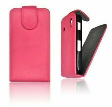 Wallet Faux Leather Pink Cover Case Pr Samsung GT-S5230 One Player