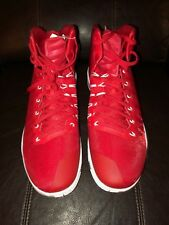 newest 07d83 d4021 Nike Zoom Hyperdunk 2016 TB Basketball Shoes Red White 856843 663 Sz 18
